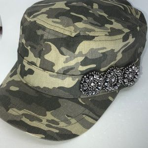 Camouflage Bling Cap